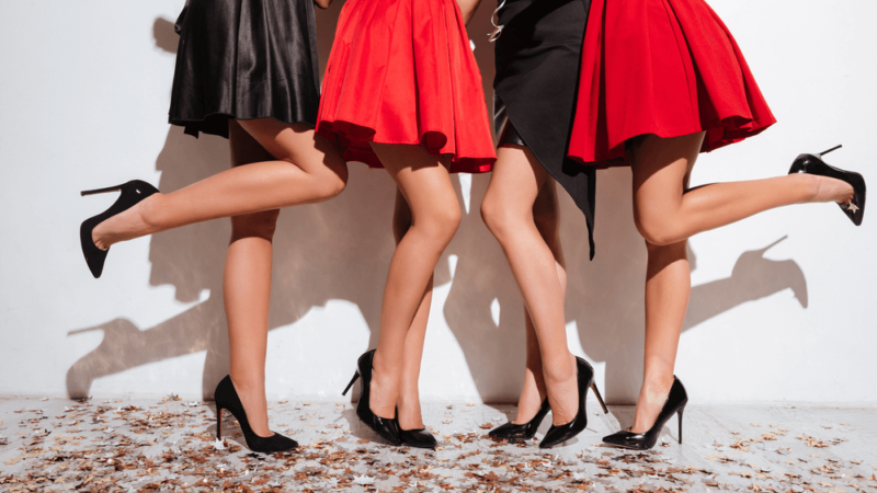 Those beauties legs are something everybody wish